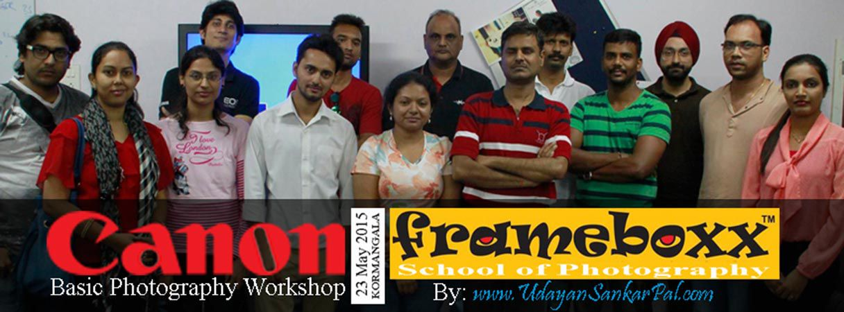 Canon Workshop in May 2015