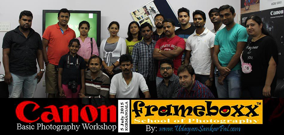 Canon Workshop in July 2015