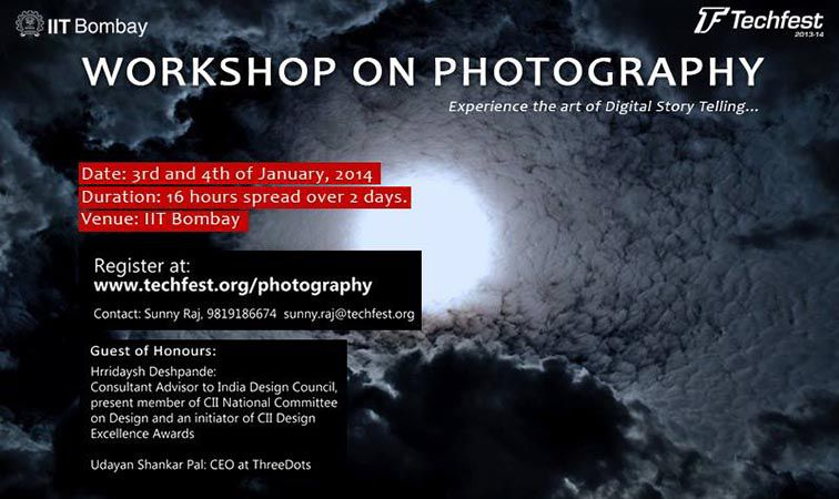 Techfest Workshop at IIT Bombay in January 2014