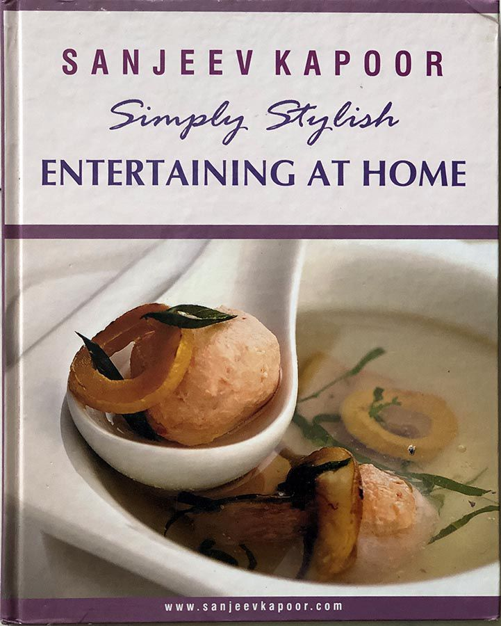Entertaining at Home by Sanjeev Kapoor
